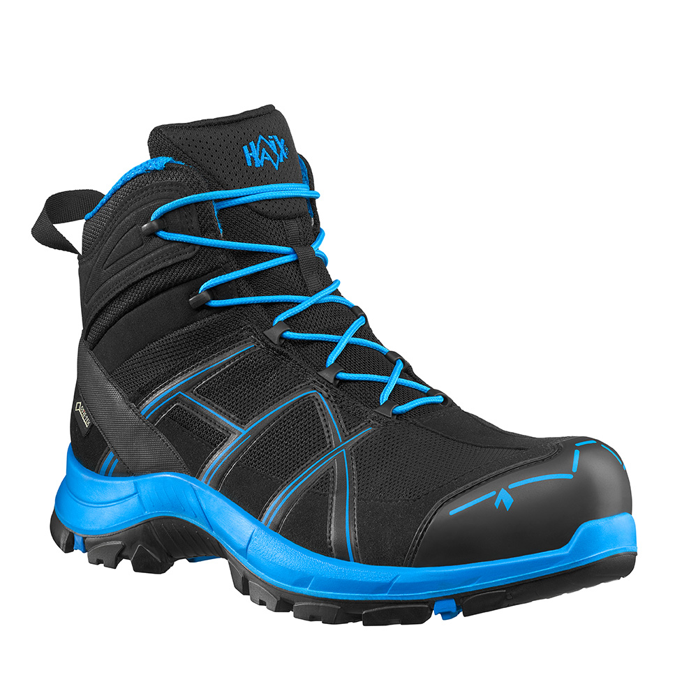 Haix BLACK EAGLE Safety 40.1 mid/black-blue S3 ESD